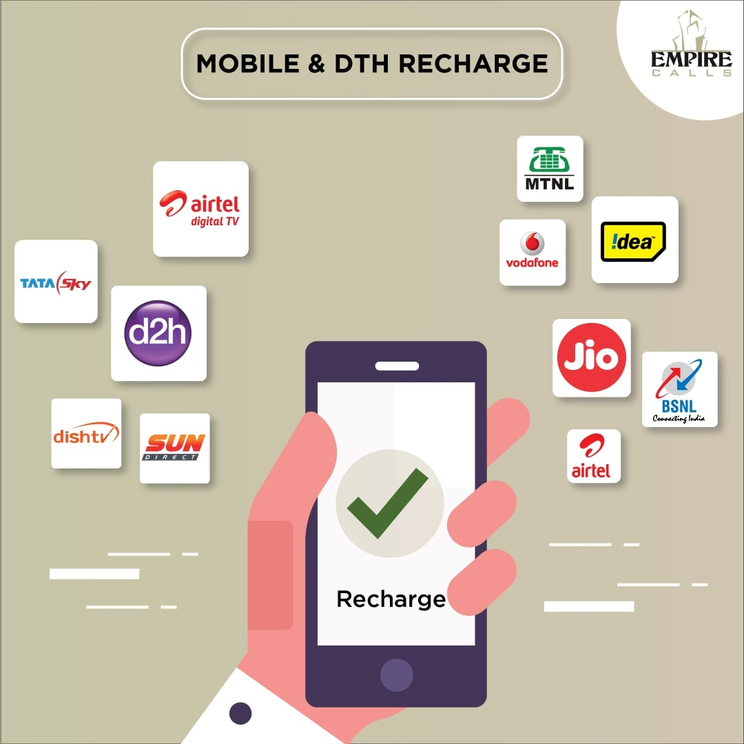 Top Mobile Recharge API Provider | DTH Recharge | Empire Calls